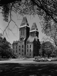 State Lunatic Asylum, Buffalo, Erie County, NY. Historic American Buildings Survey, May 1965. Boucher, Jack E., creator. Library of Congress Reproduction Number: HABS NY,15-BUF,9--2 (researching your mentally ill ancestor)