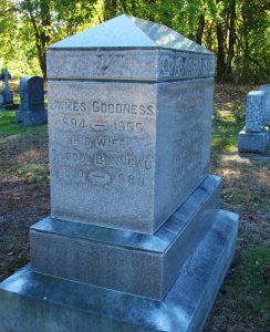 Elodia Bonneau Goodness, 1891-1980. St. James Cemetery, Danielson, Connecticut