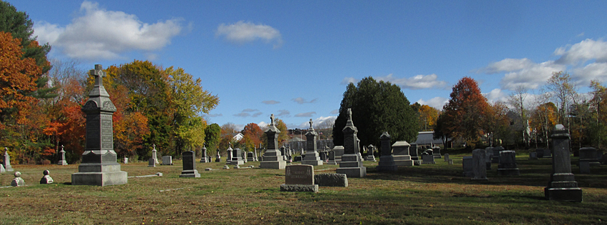 St. James Cemetery, Danielson, Connecticut. November 2016