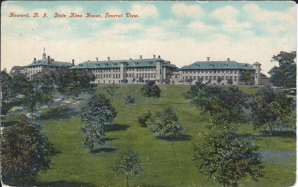 Postcard, Rhode Island State Alms House, General View. ca. 1917