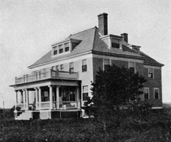 Exeter School, Superintendent's House and Administration. Rhode Island School for the Feeble-Minded in Exeter. Report. Providence: 1910.