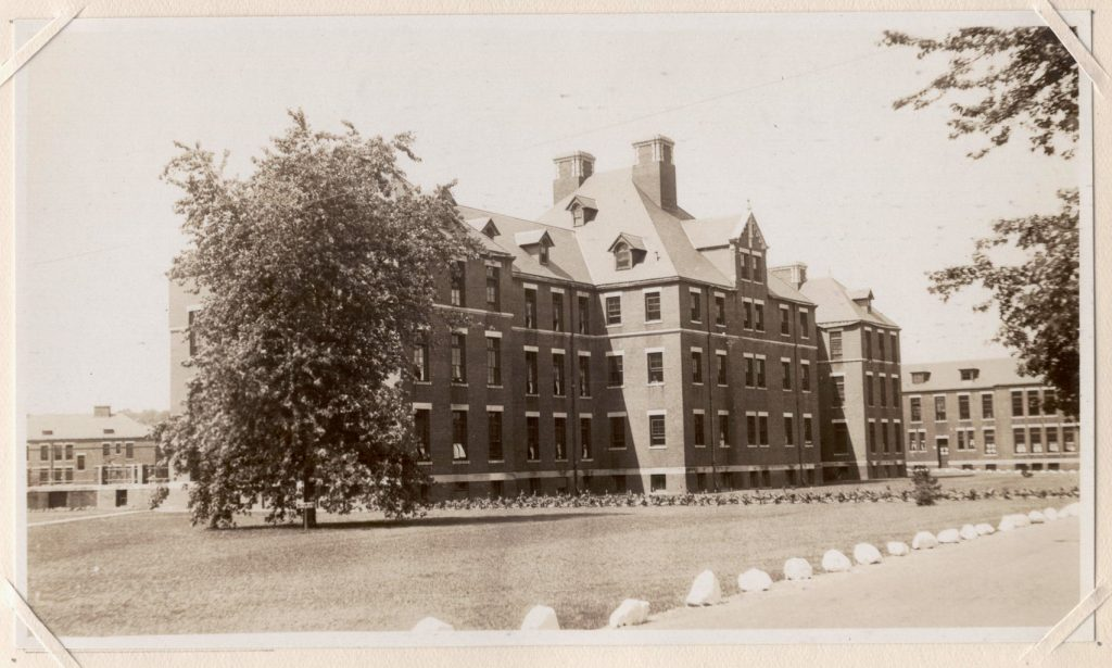 North B, Norwich State Hospital. Image from the 1931 appraisal of Norwich State Hospital. Courtesy of Preston Historical Society