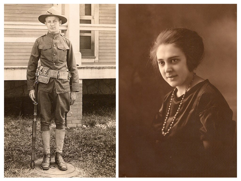 Frank Tillotson, ca. 1917 and Beatrice Metthe, ca. 1922