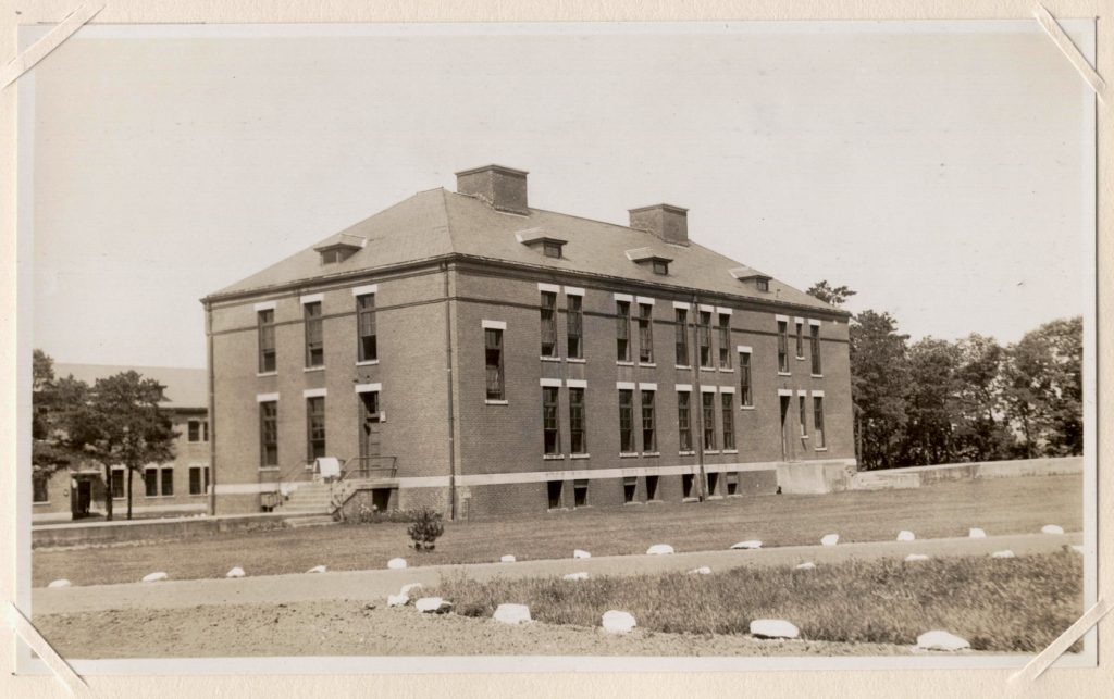 North D, Norwich State Hospital. Image from the 1931 appraisal of Norwich State Hospital. Courtesy of Preston Historical Society